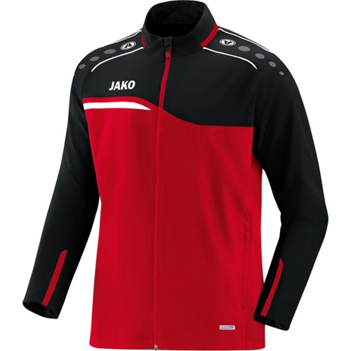 Jako Competition 2.0 presentation jacket black/red