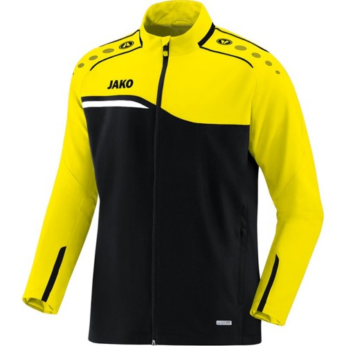 Jako Competition 2.0 presentation jacket black/yellow