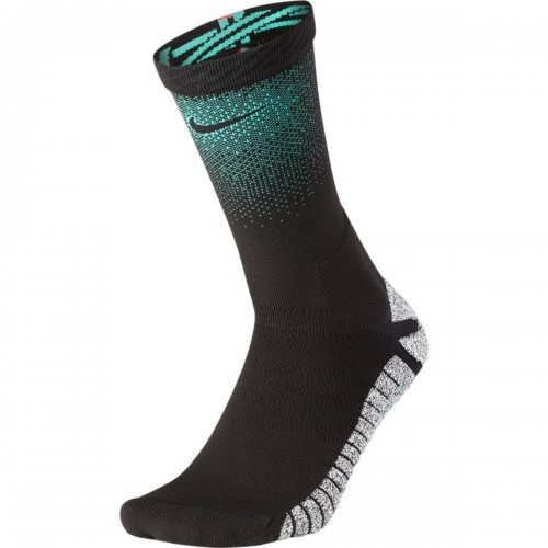Nike Crew CR7 football socks black/turquoise