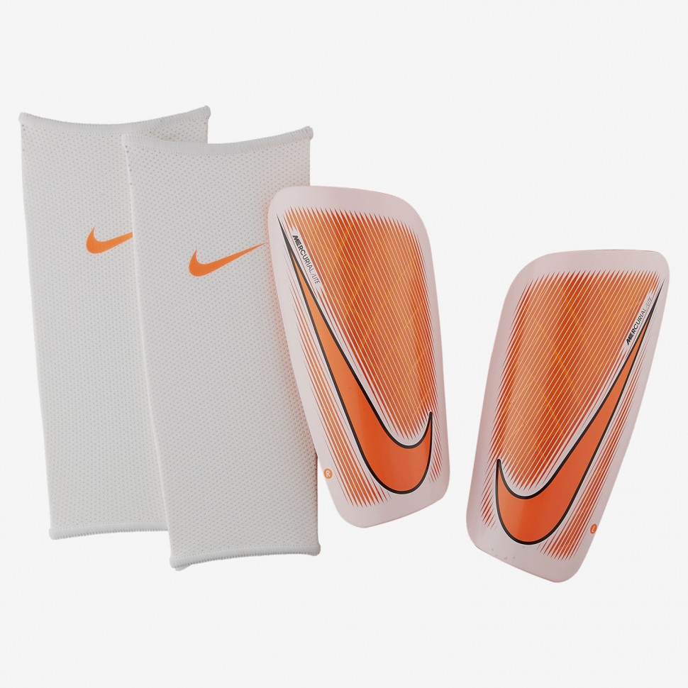 Nike Mercurial Lite Shin Guard orange/white