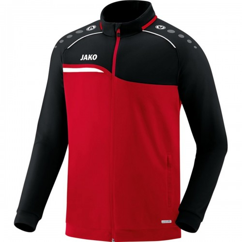 Jako Competition 2.0 Polyester Jacket Kids red/black