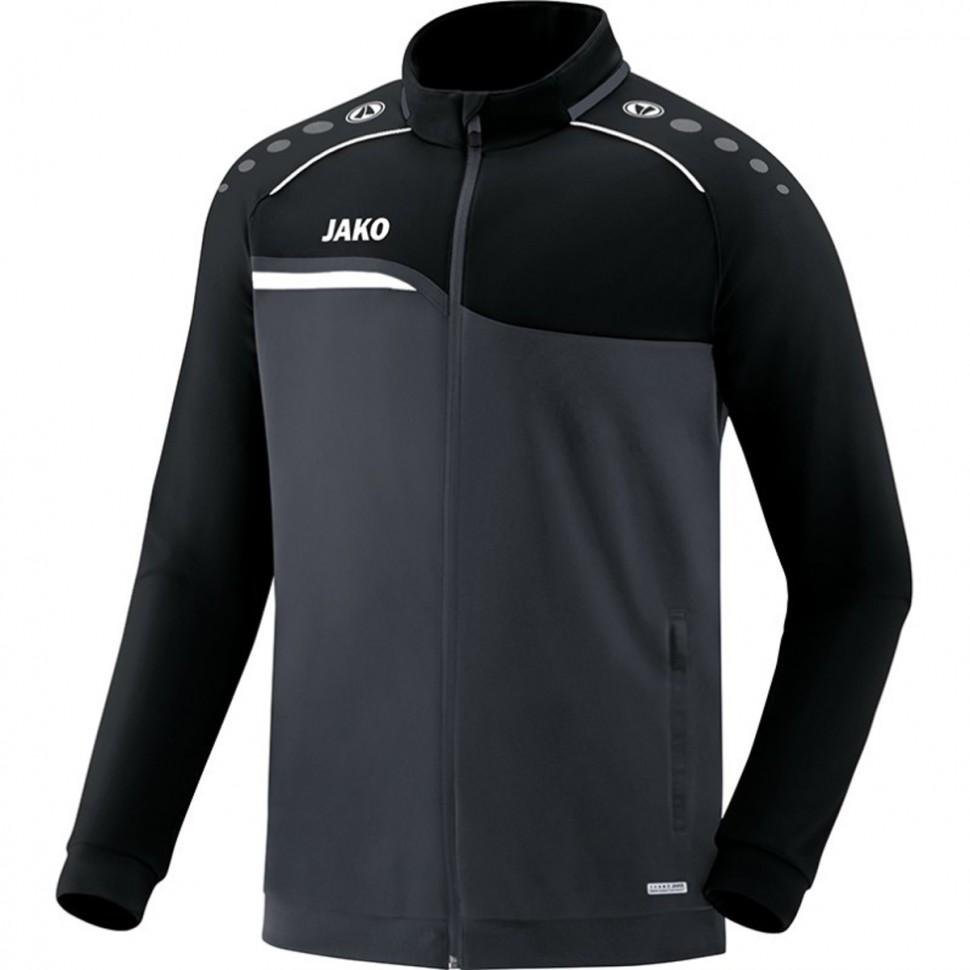 Jako Competition 2.0 Polyester Jacket Kids anthracite/black