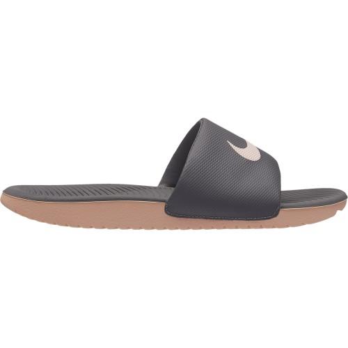 Nike Badeschuhe Kawa Slide Damen grau