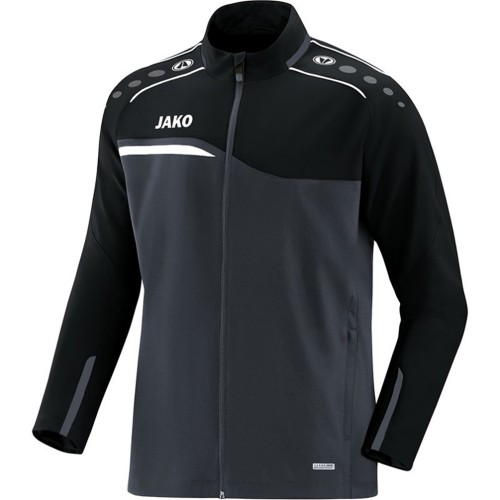 Jako Competition 2.0 Präsentationsjacke Kinder schwarz/anthrazit