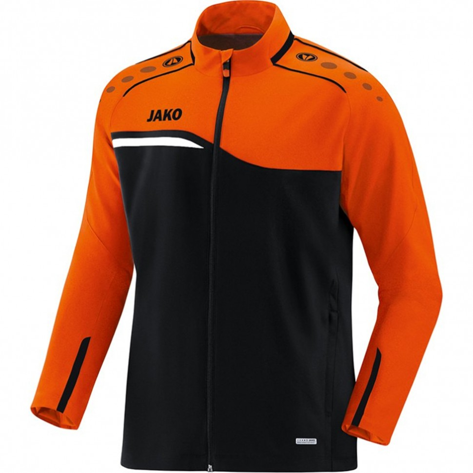 Jako Competition 2.0 presentation jacket Kids black/orange