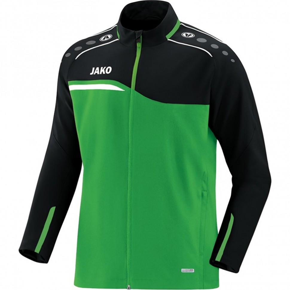 Jako Competition 2.0 presentation jacket Kids black/green