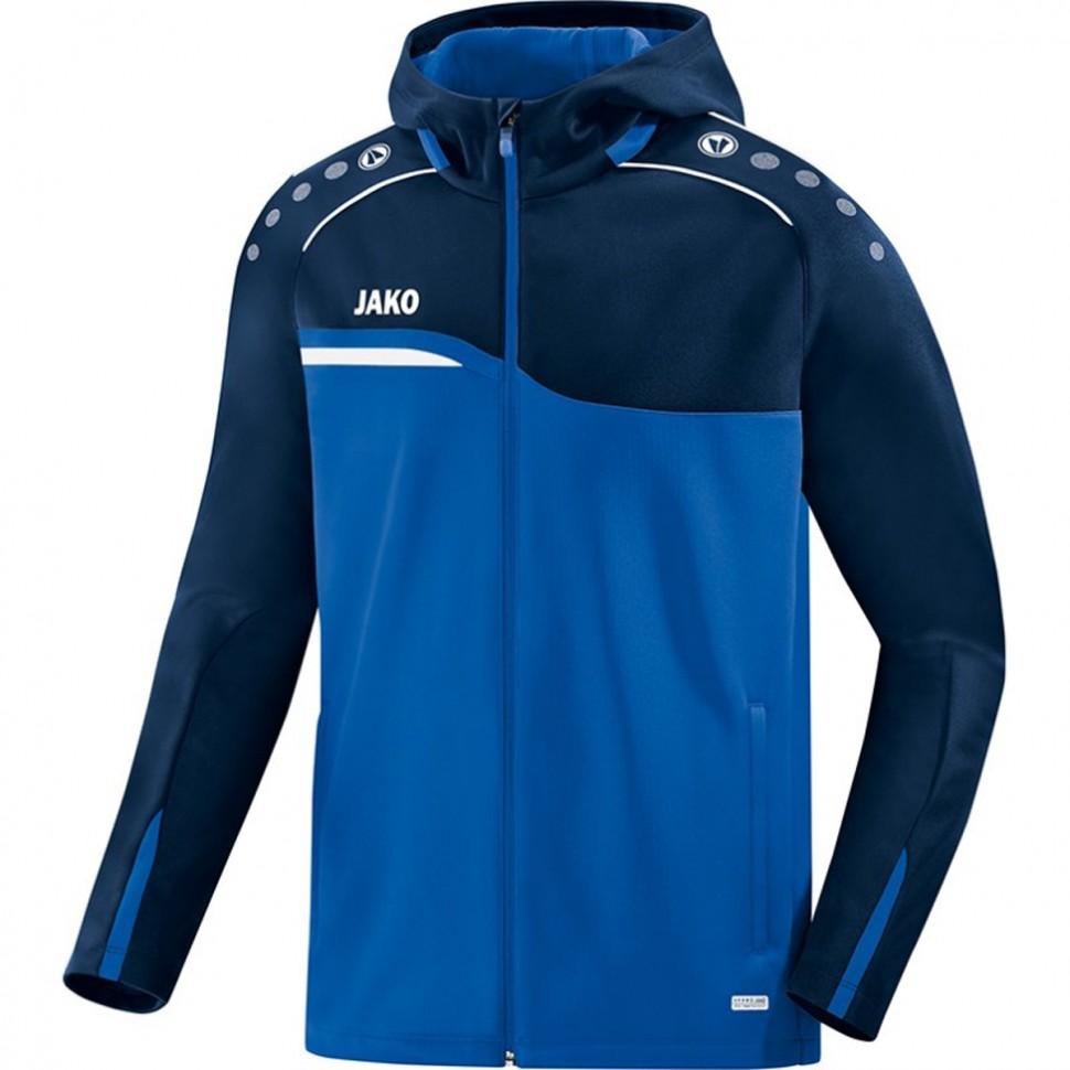 Jako Competition 2.0 Hooded Jacket marine/royal