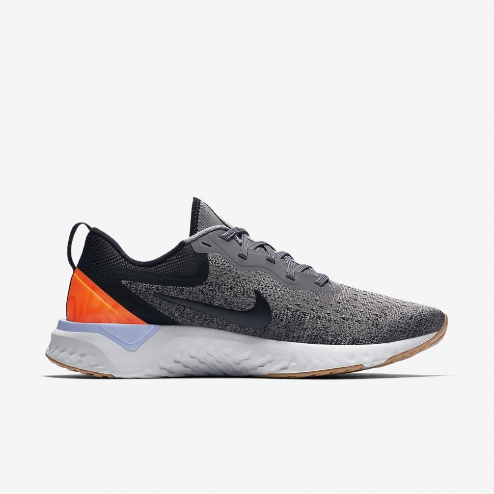 Nike Laufschuhe Odyssey React Damen grau/schwarz/orange