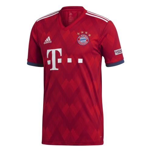 Adidas FC Bayern München Homejersey Kids red