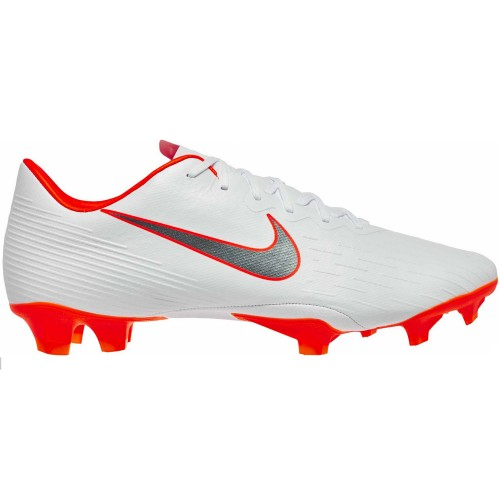 Nike soccer shoes Vapor XII Pro FG white/orange
