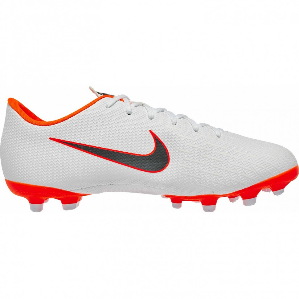 Nike soccer shoes Vapor XII Academy MG white/orange