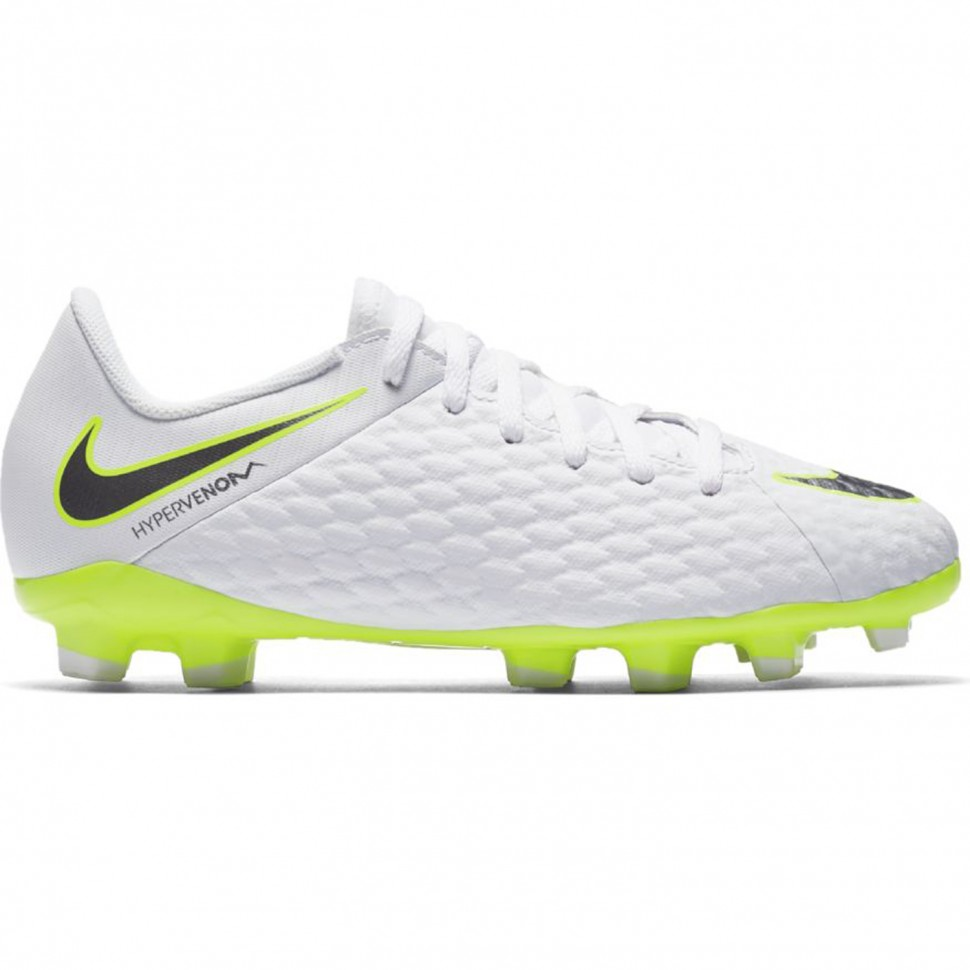 finest selection fba20 0e5ed Nike soccer shoes Phantom 3 Academy (FG) Kids white/neonyellow -  FUSSBALLcompany.de