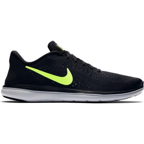 Nike Laufschuhe Flex RN schwarz/neongelb
