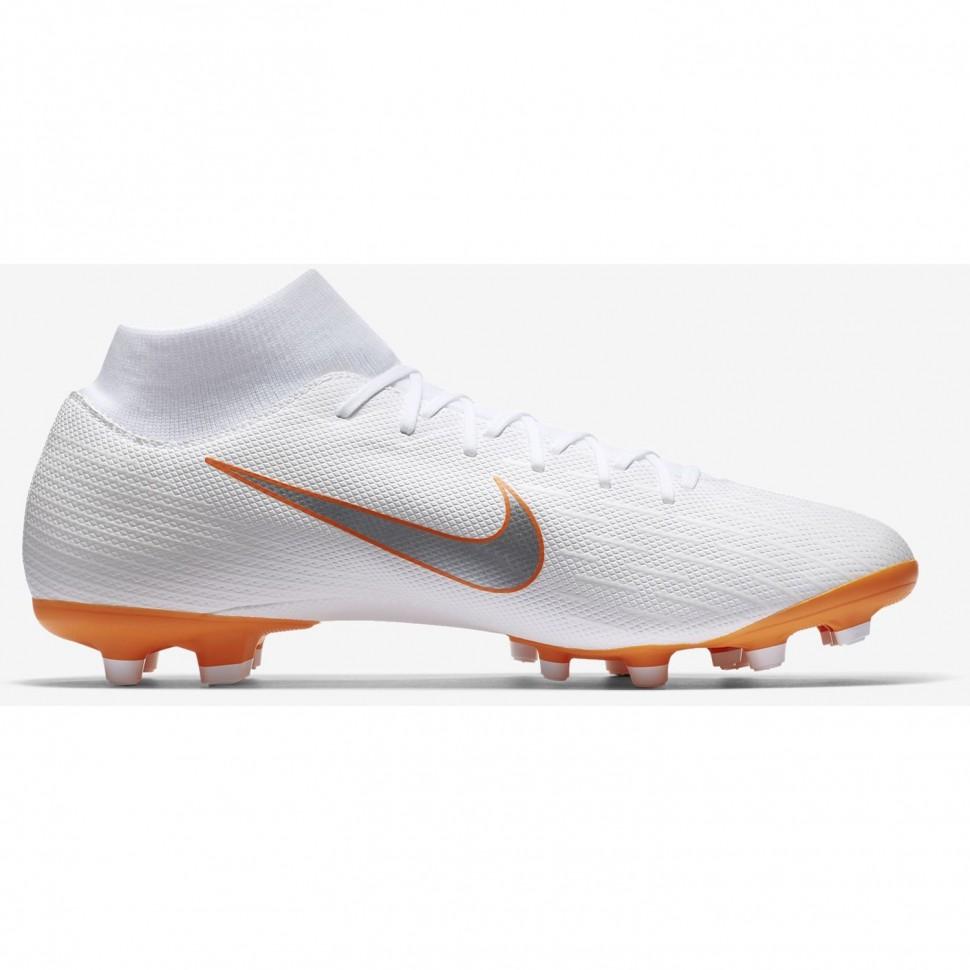 Nike Fussballschuhe Mercurial Superfly VI Academy MG weiß/orange