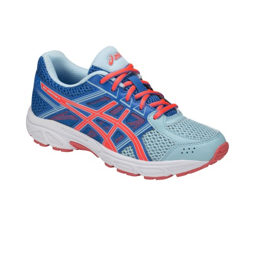 Asics Laufschuhe Gel-Contend 4 (GS) Kinder hellblau/orange