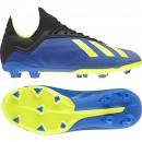 Adidas soccer shoes X 18.3 FG J Kids blue/black/yellow