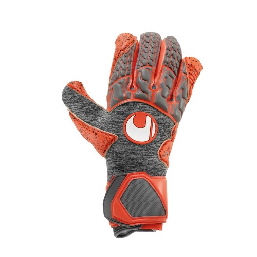 Uhlsport Torwart-Handschuhe Aerored Supergrip HN grau/orange