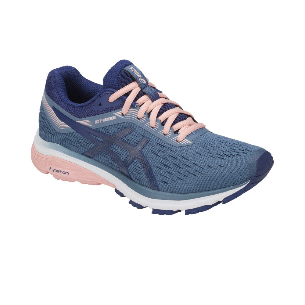 Asics running shoes GT-1000 7 Women doveblue/rose ...