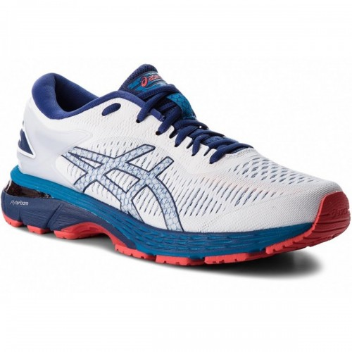 Asics Running Shoes Gel-Kayano 25 white/blue/red