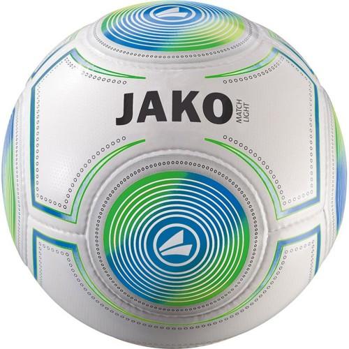 Jako Fussball 10er Ballpaket  Lightball Match 290g weiß/blau