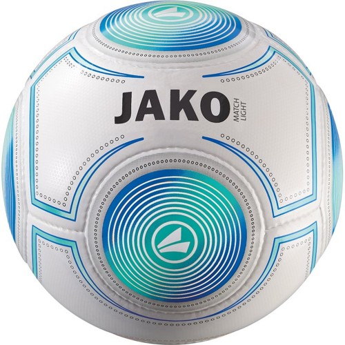 Jako Fussball 10er Ballpaket Lightball Match 350g weiß/aqua