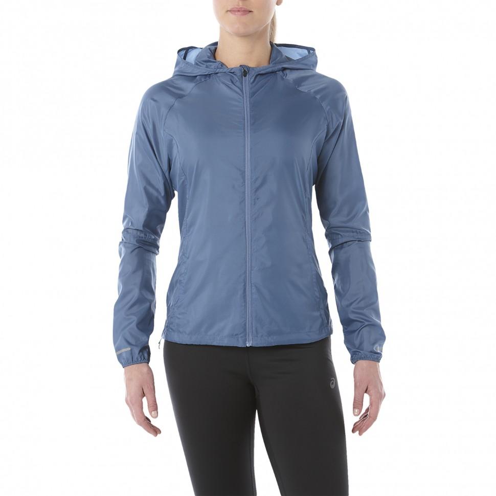 Asics Packable Jacket women azur