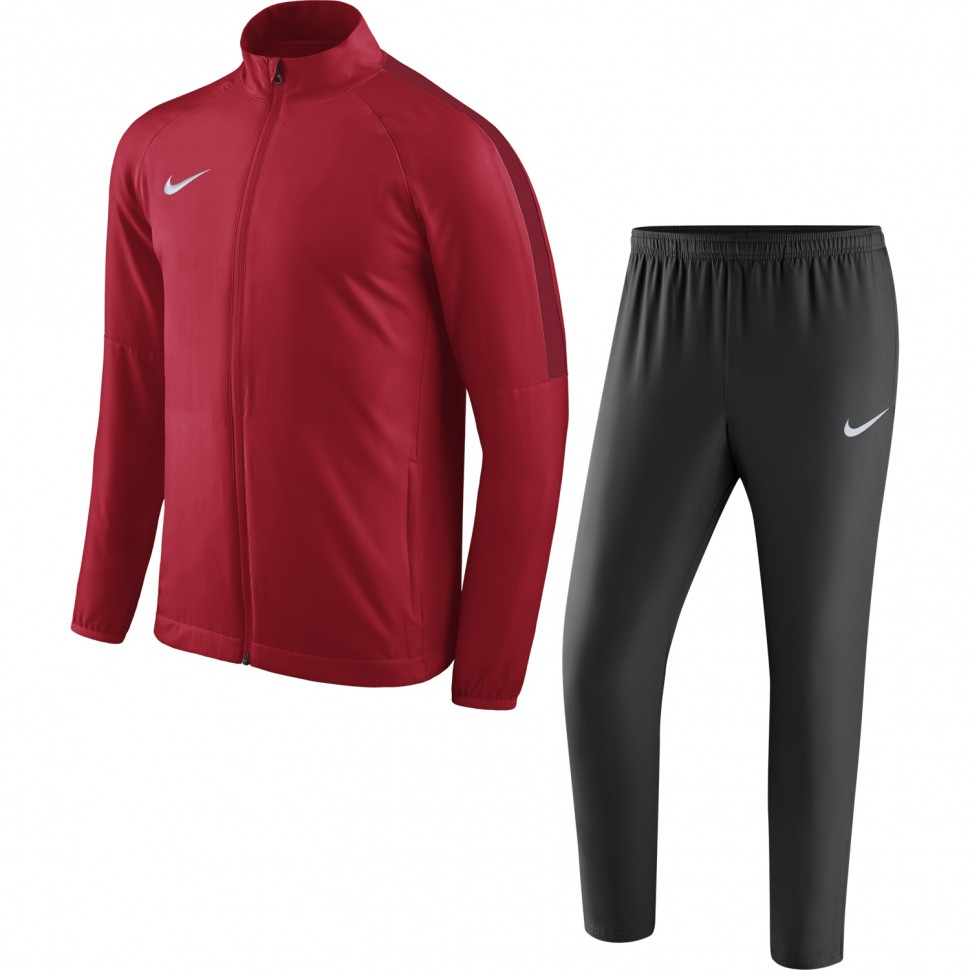 Nike Dry Academy 18 Fussball-Trainingsanzug rot/schwarz