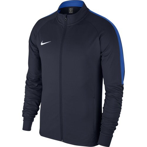 Nike Dry Academy18 Football Training Jacket Kids navy