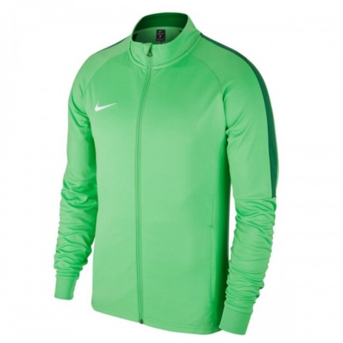 Nike Dry Academy18 Football Training Jacket Kids green