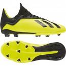 Adidas Fussballschuhe X 18.3 FG J Kinder neongelb/schwarz