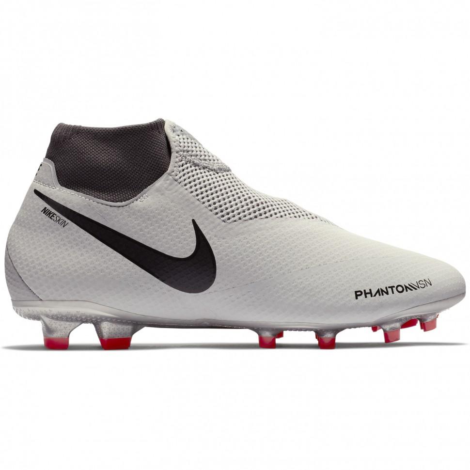 Nike Fussballschuhe Phantom Vision Pro DF FG silber/rot/schwarz