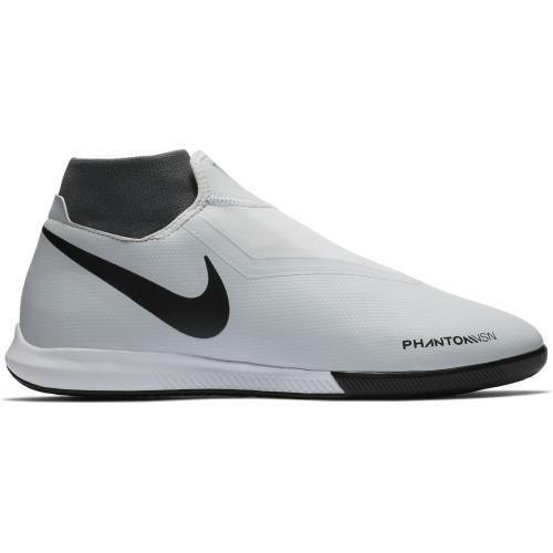 Nike Hallen-Fussballschuhe Phantom Vision Academy DF IC silber/rot/schwarz