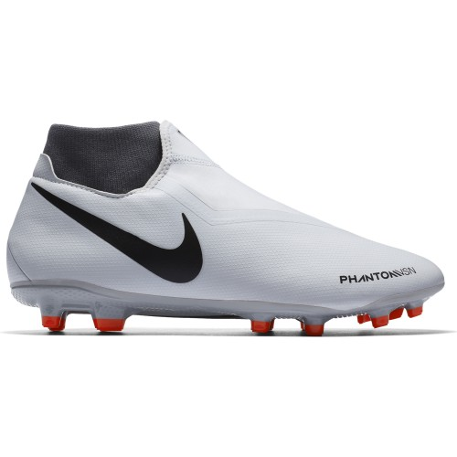 Nike football bootsPhantom Vision Academy DF MG silver/red/black