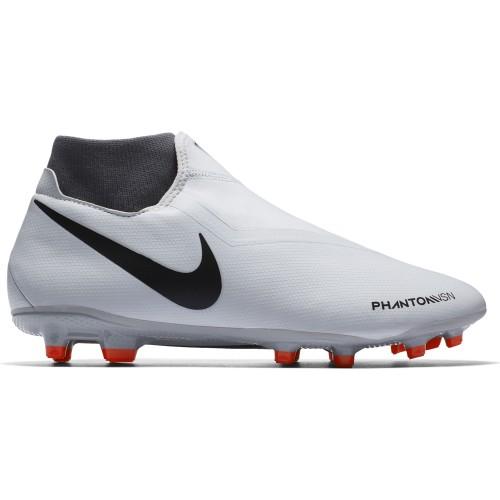 Nike Fussballschuhe Phantom Vision Academy DF MG silber/rot/schwarz