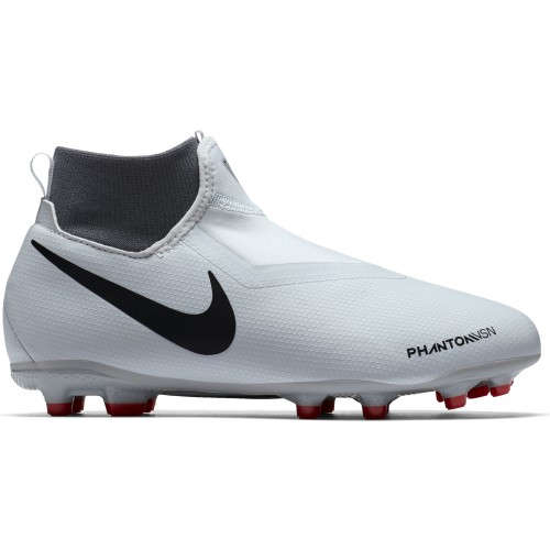 Nike football boots Phantom Vision Academy DF MG Jr silver/red/black