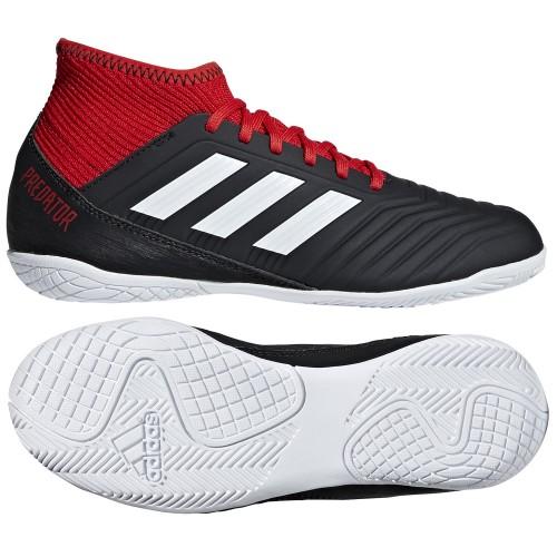 Adidas Hallen-Fussballschuhe Predator Tango 18.3 IN Kinder schwarz/rot