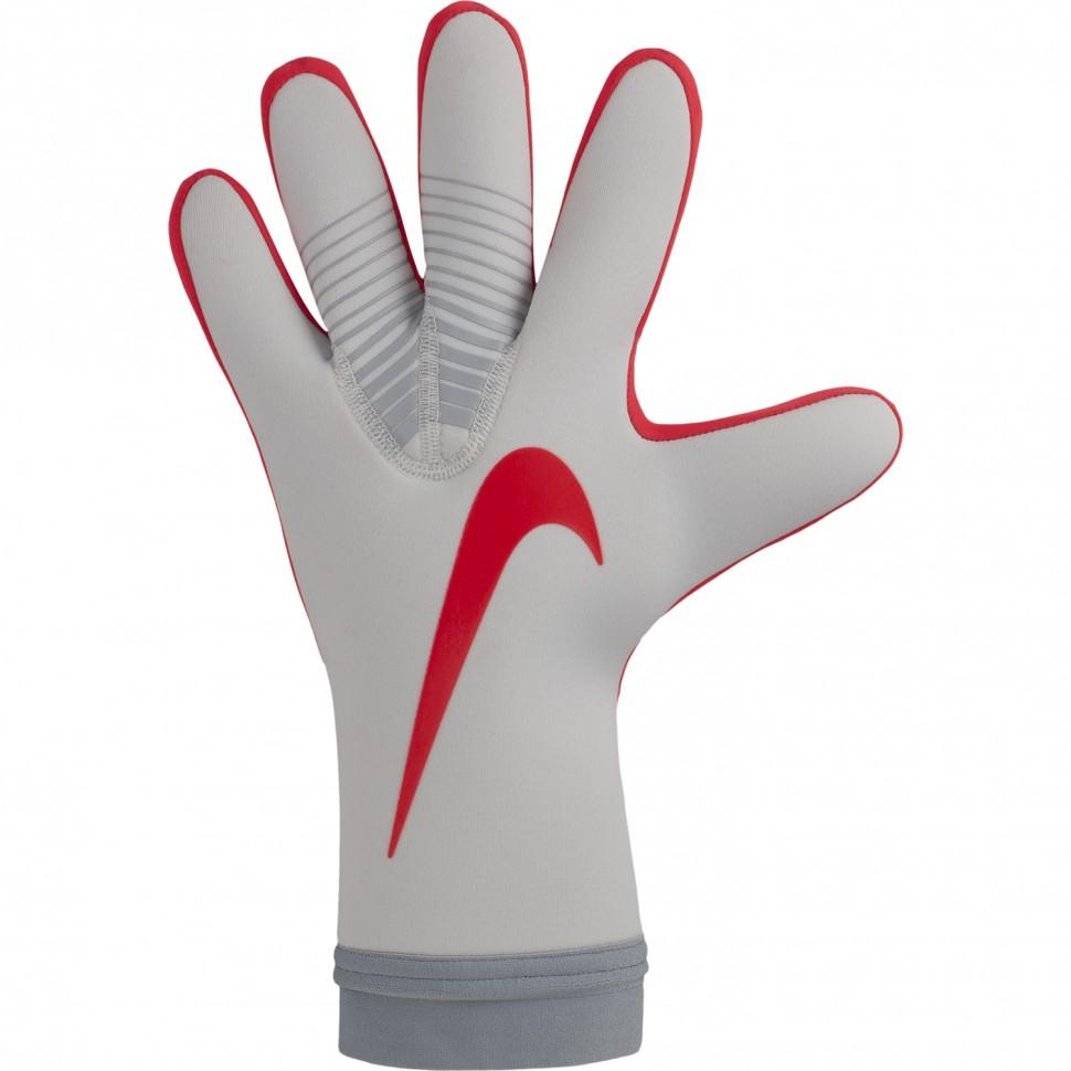 Nike Torwart-Handschuhe Mercurial Touch Victory grau/rot