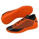 Puma Indoor Soccer Boots Future 2.4 IT Jr. Kids orange/black