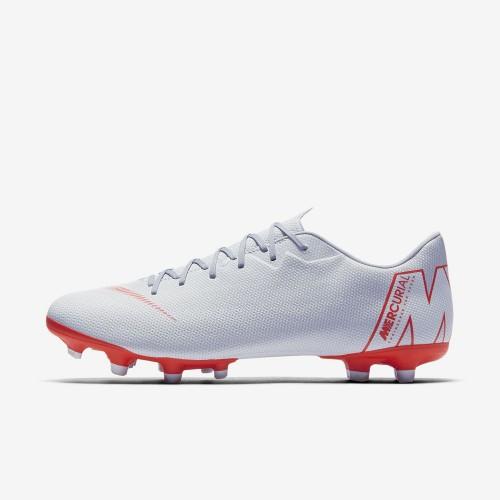 Nike Fussballschuhe Vapor XII Academy MG silber/rot