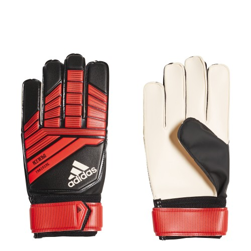 Adidas Goalkeeper Gloves Predator Training black/red