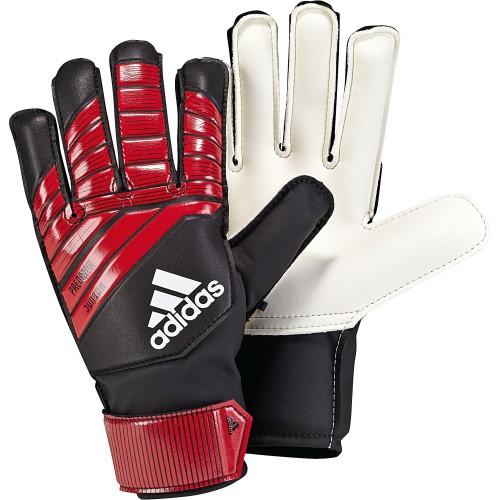 Adidas Torwarthandschuhe Predator Junior Kinder rot/schwarz