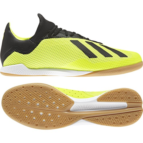 Adidas Indoor-Soccershoes X Tango 18.3 In yellow/black