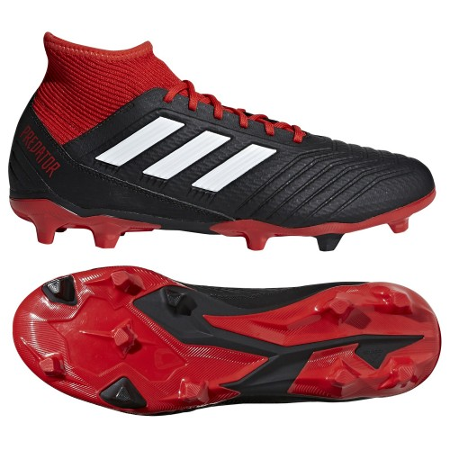 Adidas soccer shoes Predator 18.3 FG red/black