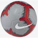 Nike Fussball Strike grau/rot