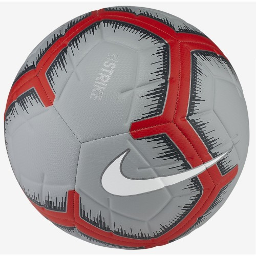 Nike soccerball Strike gray/red