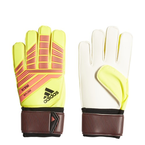 Adidas Goalkeeper soccergloves Predator Replique yellow/red