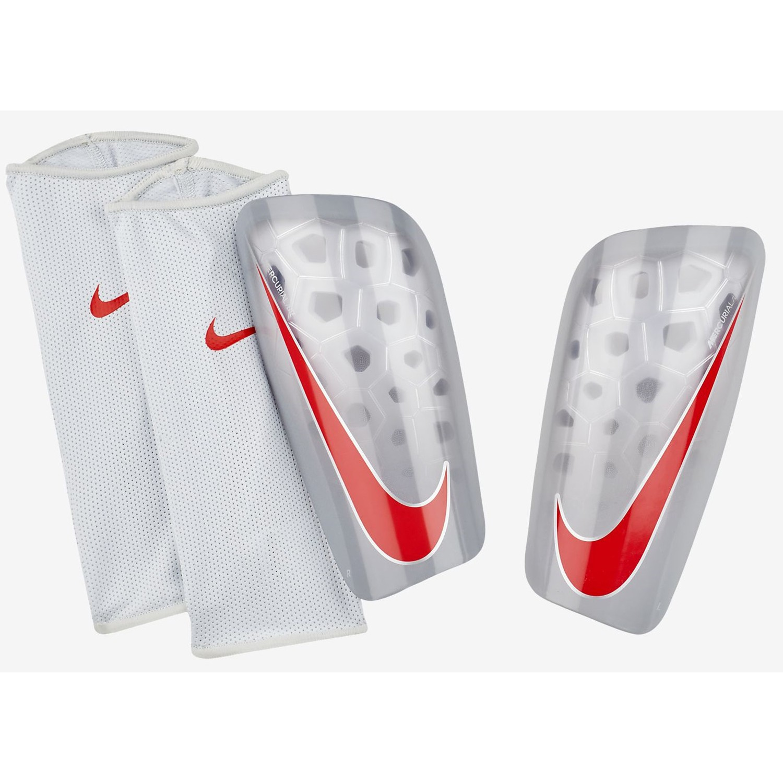 Nike Schienbeinschoner Mercurial Lite graurot