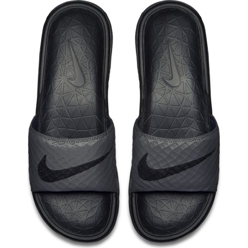 Nike Slipper Benassi Solarsoft Slide 2 black/grey