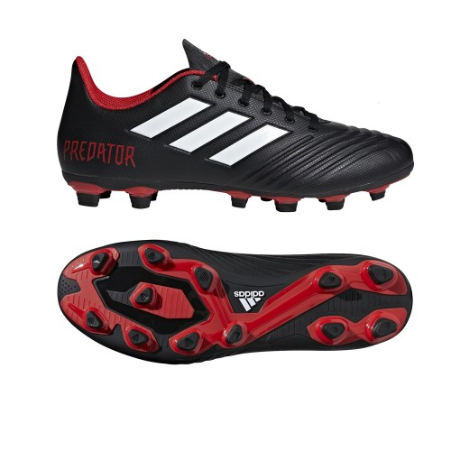 Adidas soccer shoes Predator 18.4 FxG red/black
