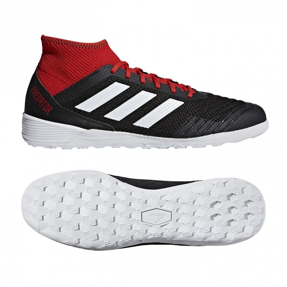 Adidas Hallen-Fussballschuhe Predator Tango 18.3 In schwarz/rot
